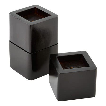 Sofa Risers Walmart by Raise Its Desk Risers Set Of 8 Black Walmart