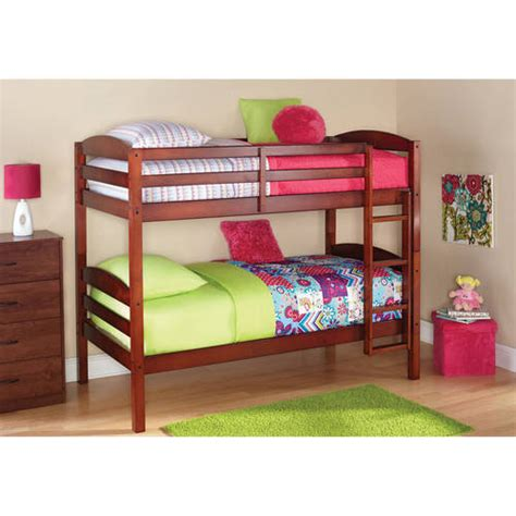 Walmart Wood Bunk Beds by Elise Conversion Kit For Bunk Bed Black
