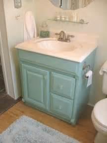 Bathroom Vanity Paint Ideas Painted Aqua Bathroom Vanity Featheryboa Bath Ideas Juxtapost