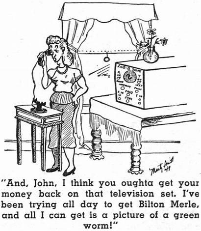 Radio Comics 1950 January Television Electronics Themed