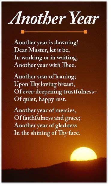year poetry  years prayer happy  year