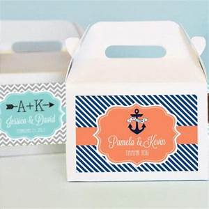 Personalized bridal mini gable favor boxes bridal shower for Personalized wedding shower favors