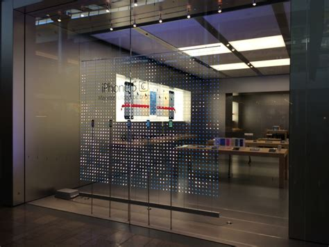 apple retail stores get snowflake storefront design in