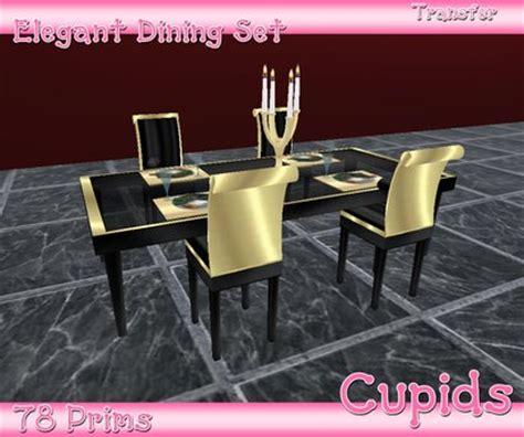 life marketplace elegance black gold dining table set