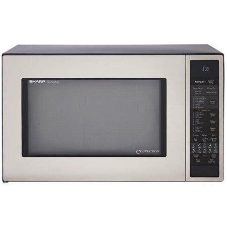 Microwave Convection Countertop by Sharp R930cs Carousel Countertop Convection Microwave