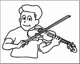 Violin Playing Clipart Clip Boy Coloring Drawing Abcteach Draw Loring Music Easy Kid Illustration Clipground Getdrawings Instrument Preview sketch template