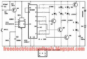 A Dice Circuit Using Led