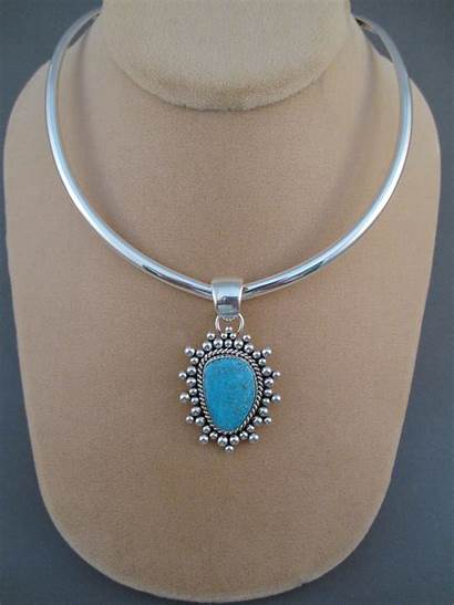 Silver Necklace Collar Sterling Jewelry Artie Yellowhorse