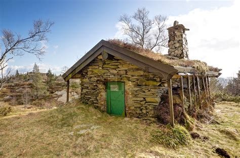 Stone Cottage Up In A Mountain