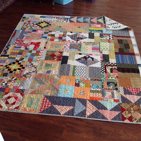 My Everything But The Kitchen Sink Quilt Is Done This One