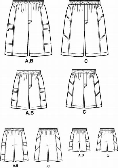 Simplicity Shorts Mens Boys Trunks Sewing Pattern