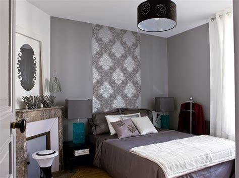 papier peint chambre parentale des chambres id 233 ales pour des petites surfaces