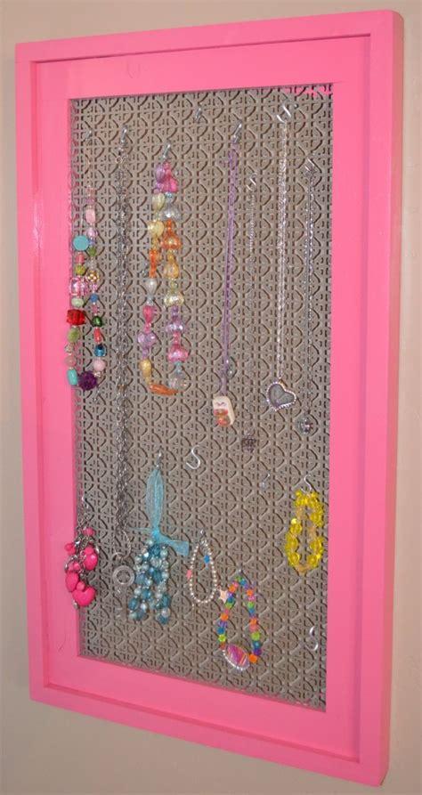 simple diy frame    jewelry display board