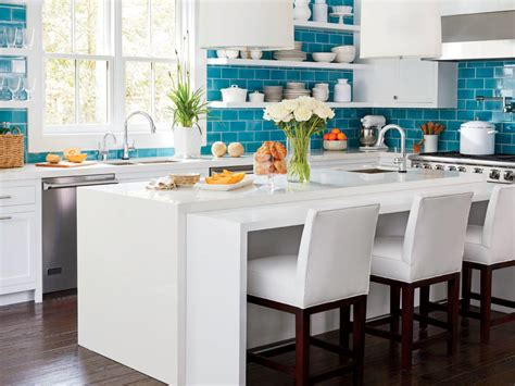 blue kitchen tiles ideas update your kitchen with color cooking light