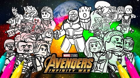 avengers infinity war coloring pages lego avengers infinity war cover coloring page marvel lego