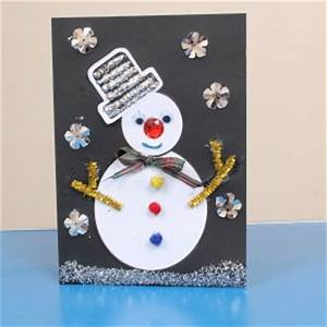 Christmas Card Craft Idea for Children