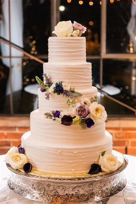 Elegant Georgia Wedding In Shades Of Green Wedding Cakes