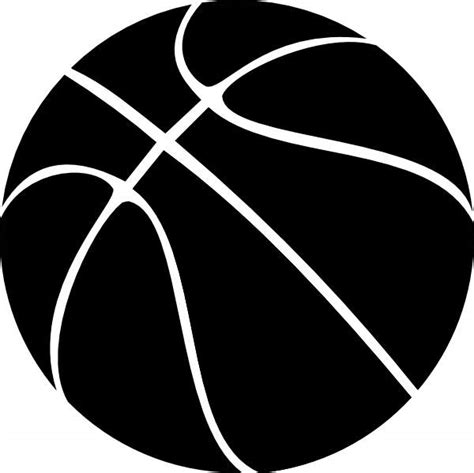 basketball clipart black and white best basketball clipart 2070 clipartion