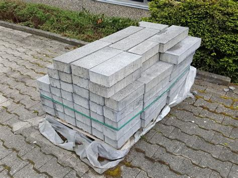 Pflastersteine Kronimus Baretto Dunkelgrau 8 Cm (ca 5 M²