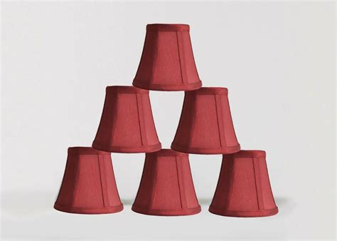 Miniature L Shades For Chandeliers by Urbanest Chandelier Mini L Shades 5 Quot Bell Silk Burgundy