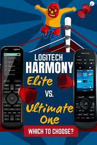 Harmony Elite Vs Ultimate Home  2020 Lcd Remote Comparison