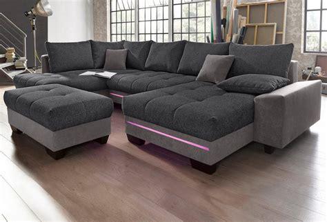 sofa mit bluetooth wohnlandschaft mit beleuchtung wahlweise mit bluetooth soundsystem kaufen otto