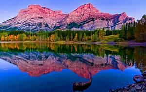 Mountain, Nature, Landscape, Cloud, Lake, Tree, Reflection, River