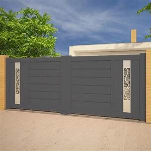 Portail Alu 3m : portail alu battant 3m portail aluminium battant droit ~ Edinachiropracticcenter.com Idées de Décoration