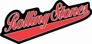 The Rolling Stones Baseball Logo Sticker