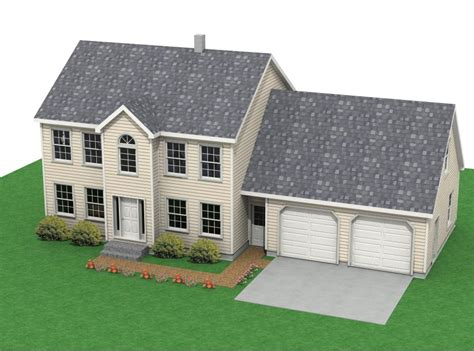 colonial houses  attached garage colonial southern house colonial garage plans mexzhousecom