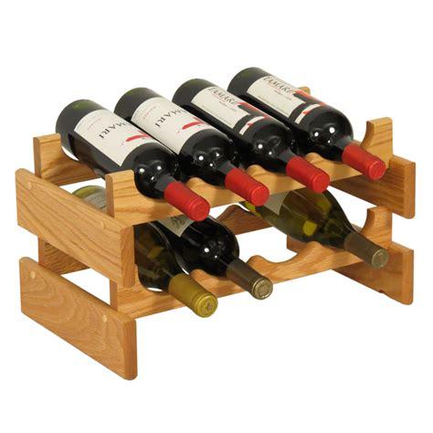 8 Bottle Dakota Wine Rack In Wine Racks
