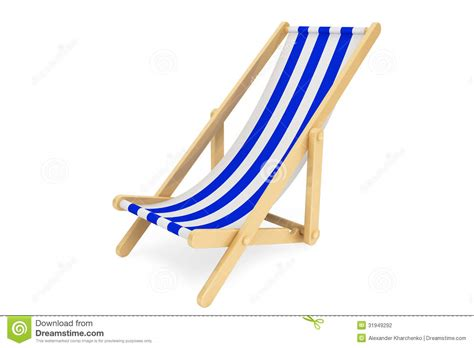 chaises de plage 3d chair stock photo image of enjoyment background