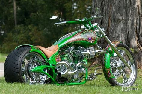 Speed Trix Harley Davidson Shovel Head Custom Bike Chopper