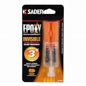 Colle Epoxy Bi Composant : sader seringue colle epoxy bi composants invisible 25ml ~ Mglfilm.com Idées de Décoration