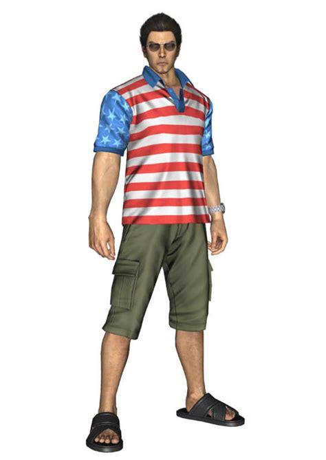 yakuza    dlc pack  american themed kazuma