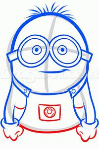 How to Draw a Minion from Despicable Me, Grus Minions ...