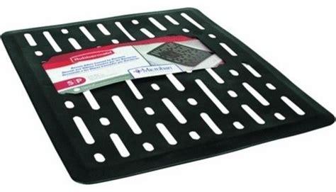 rubbermaid rubbermaid rowek 1g1706bla sink mat sm black
