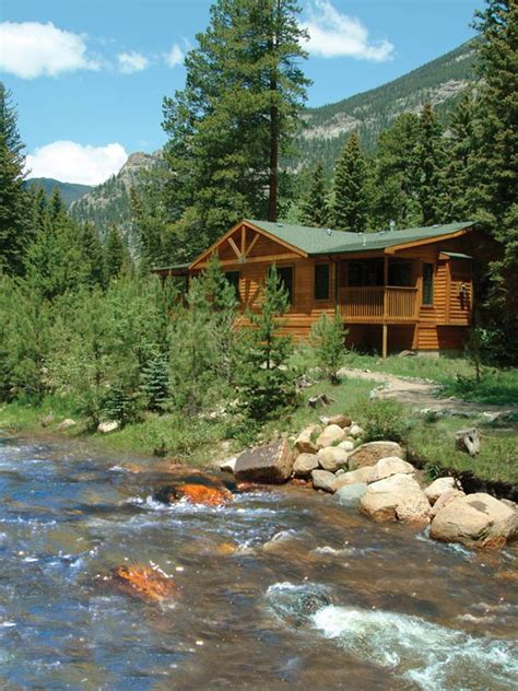 rocky mountain national park cabins estes park vacation cabins at evegreens on fall river