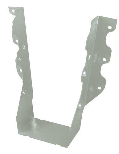 floor joist hangers menards usp structural connectors 2 quot x 8 10 quot stainless steel slant