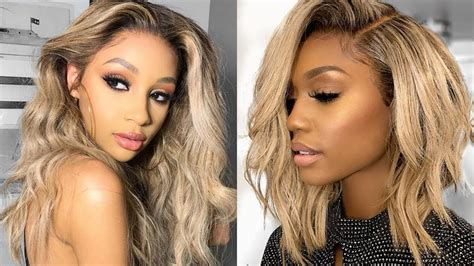 2018 Fall & Winter 2019 Hairstyle Ideas For Black Women