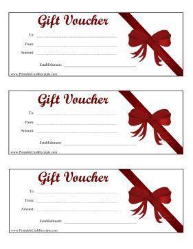 gift vouchers red bows  money  pinterest