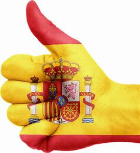 Hand Spain Flag transparent PNG - StickPNG