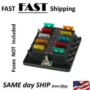 automotive replacement fuse panel fuse panel mod with blown fuse technology ebay