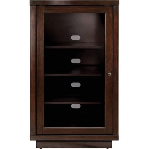 audio video component cabinet audio component cabinet made of mahogany wood in brown