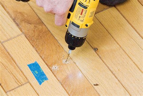 how to fix a squeaky hardwood floor stanley tools