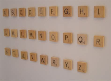 cool home creations scrabble letter magnets