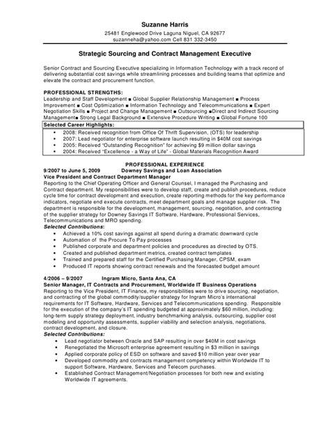 sourcing buyer resume
