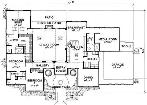 house plans with media room media room with guest room options 31129d 1st floor
