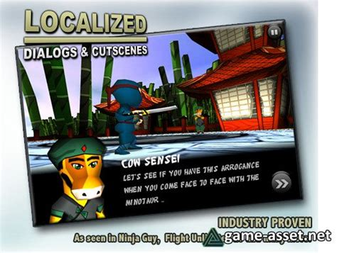 Localized Dialogs & Cutscenes (LDC) » Game Assets for ...