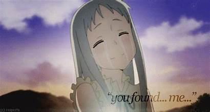 Cry Anohana Anime Moments Found Did Flower